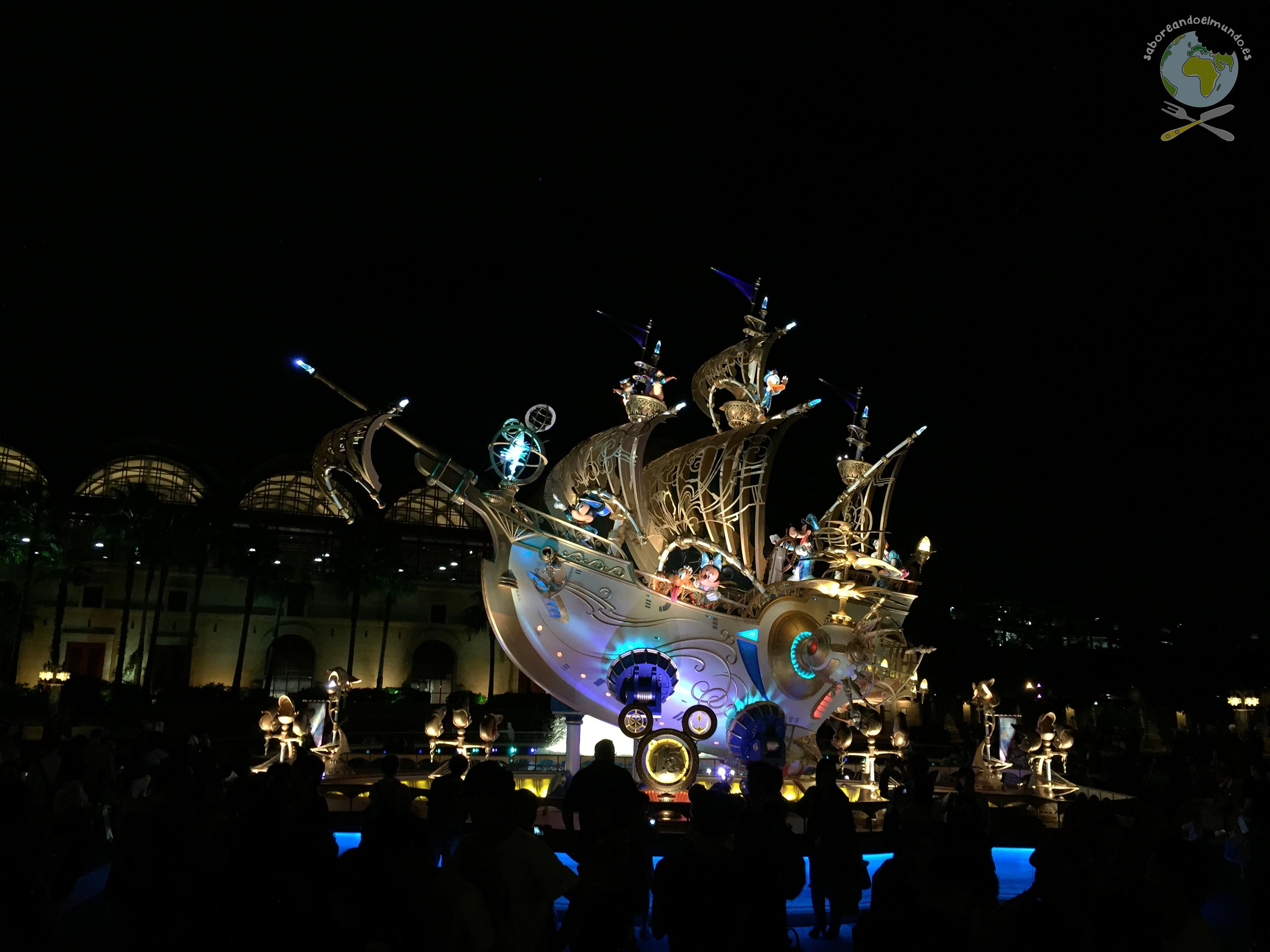 Parade nocturna DisneySea