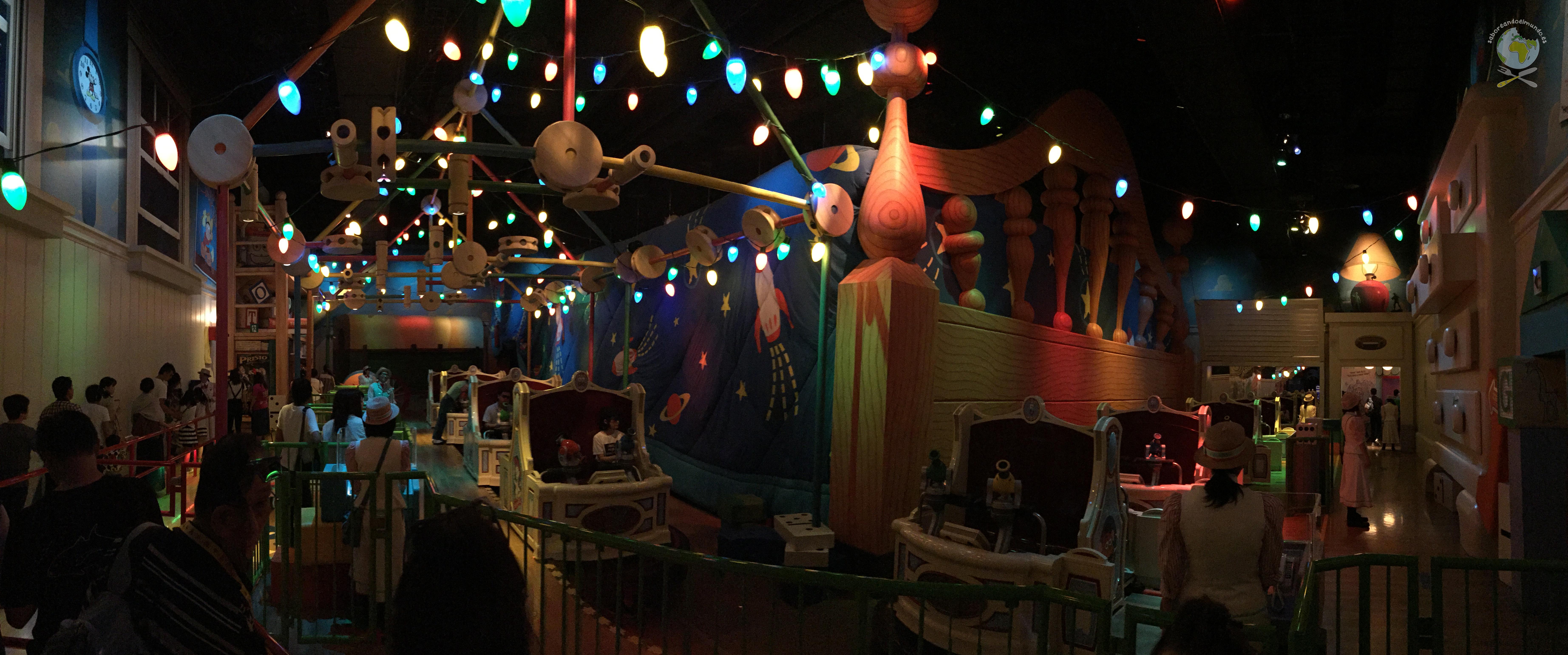 Toy Story atracción