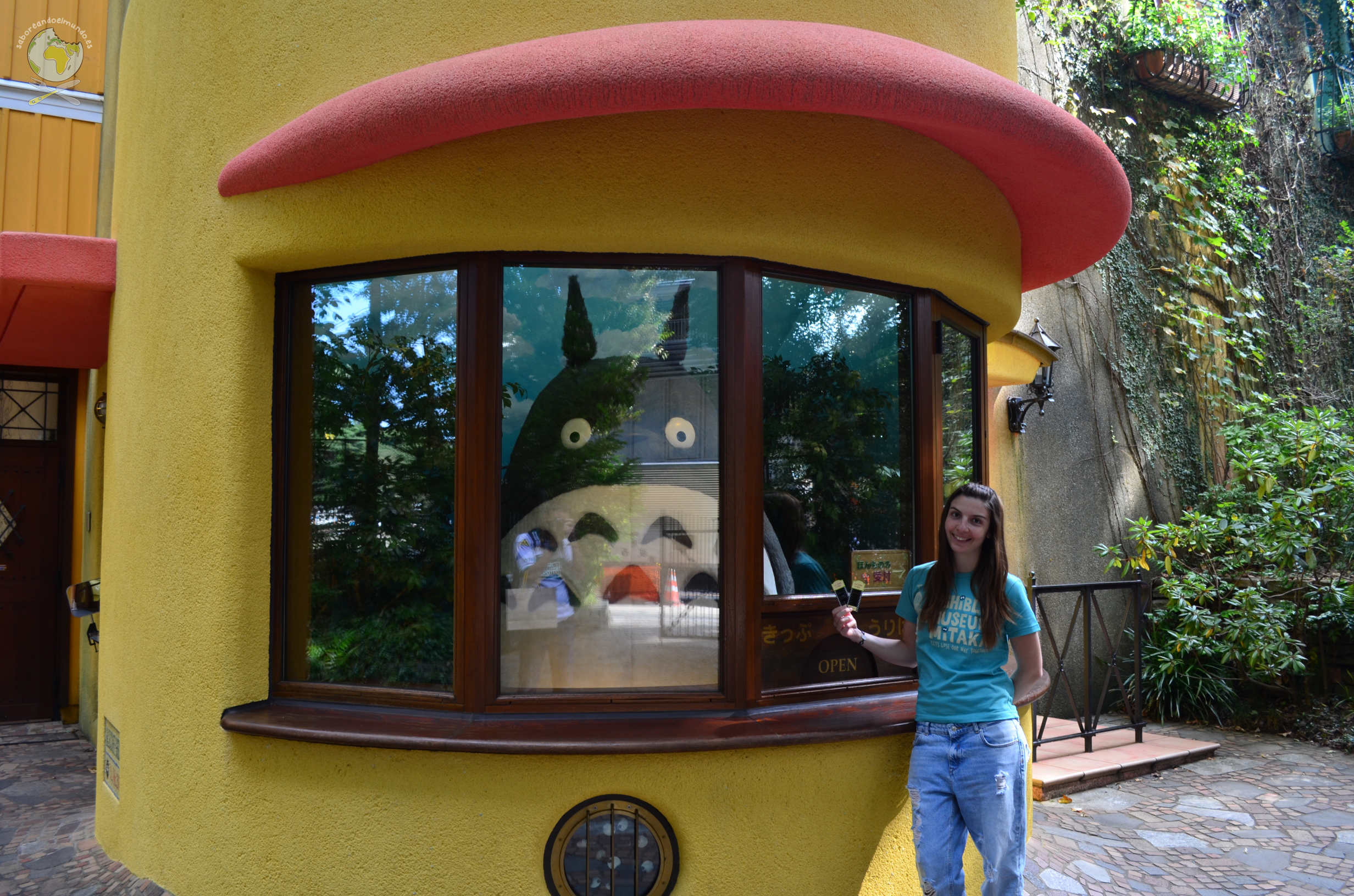 Entrada musei Ghibli Totoro