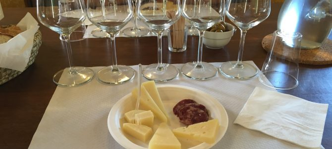 Degustación de vino en Leddà d'Ittiri